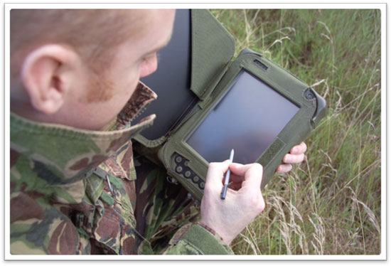 touch screen on harsh environment
