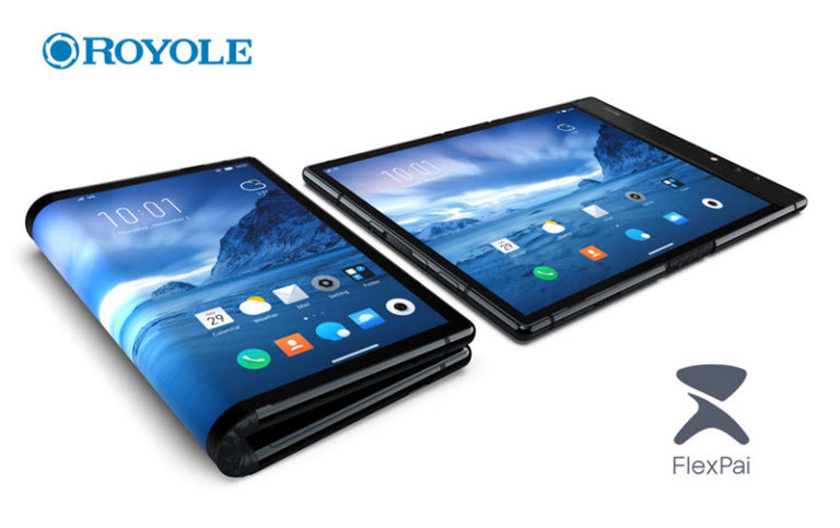royole flexpai foldable phone