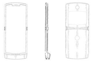 razr phone patent 2019